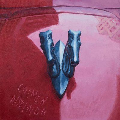 """Cosmen Adelaida, """"Dos caballos"""""""